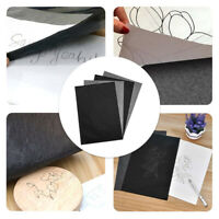 Canvas 100 Sheets A4 Dark Grey Carbon Transfer Tracing Paper for Wood Paper G9Z