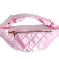 🎀 New Quilted Belt Bag/Fanny Pack/Mini Bag Pink F21 Fitness