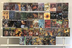 Caliban Providence Dan The Unharmable Robocop Black Summer Avatar Press 50 Lot