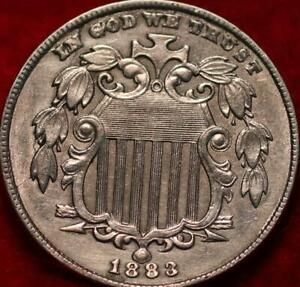 1883 Philadelphia Mint Shield Nickel