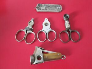 5  Antique   -   CIGAR  CUTTERS  #5
