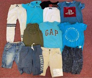 Boys Age 8-9 Years Summer Bundle GAP Converse Playstation Shorts T-shirts Ralph