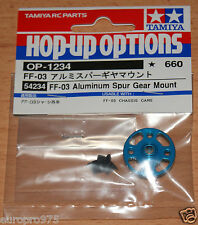 Tamiya 54234 FF-03 Aluminum Spur Gear Mount (FF03/FF04/TA05VDF/TA05M-Four), NIP