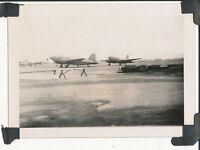 1940s US Army GI's occupation Japan photo USAAF airplanes at Tachikawa Air Base