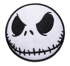 "Nightmare Before Christmas Jack Skellington 3"" Embroidered PATCH"