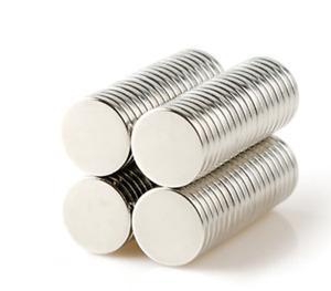 50 x Circular Disc Utility Magnets 10mm x 1mm Fridge