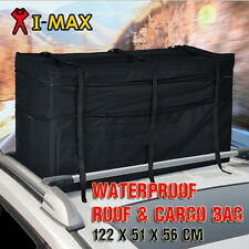 Waterproof Roof Rack Bag Carrier Cargo Car 4WD 4x4 Storage Luggage Top Travel