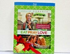 EAT PRAY LOVE Blu Ray disc BNEW SEALED
