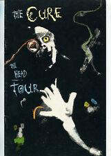 1985 The Cure Concert Program The Head On The Door Tour Book Robert Smith