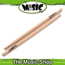 12 Pairs Zildjian 3A Hickory Drumsticks with Wood Tips - 3AWN Drum Sticks