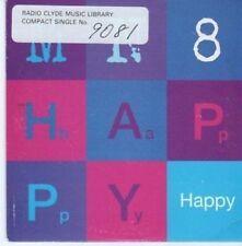 (BG168) MN8, Happy - 1995 DJ CD
