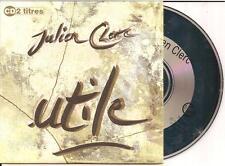 JULIEN CLERC - utile CD SINGLE 2TR CARDSLEEVE 1992 FRANCE