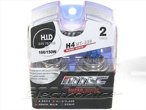 MT 539 MTEC  H4 24 VOLT  SUPERWHITE LAMPADA XENON
