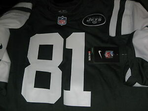 DUSTIN KELLER JETS STAR AUTHENTIC NIKE GREEN HOME FOOTBALL JERSEY 2XL BRAND NEW