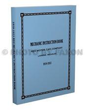 Reo T6 F G Speedwagon Shop Manual 1927 1926 1925 1924 1923 1922 1921 1920 1919