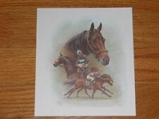 "Fred Stone Horse Racing Print - small - ""John Henry - Shoemaker Up"""