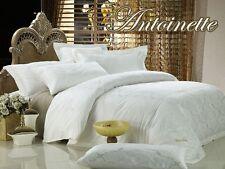 Queen size Duvet Cover Set, Percale Jacquard Luxury Bedding, Dolce Mela DM446Q