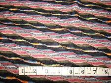 2-YDS  KNIT STRETCH FABRIC GORGEOUS WAVED  DESIGN NEW