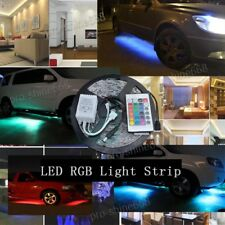 5M Multi-Color RGB 5050 SMD led Strip Light Home Auto 24 Key IR Remote control