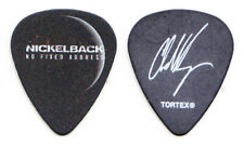 Nickelback Chad Kroeger Signature Black Guitar Pick 2 2015 No Fixed Address Tour