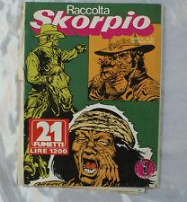 Fumetto raccolta SKORPIO nr 51 anno V 24 luglio 1982 21 fumetti rivista