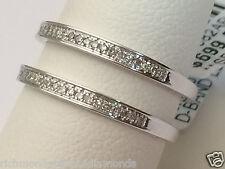 Solitaire Enhancer Pave Diamonds Ring Guard Wrap 10k White Gold Antique Vintage