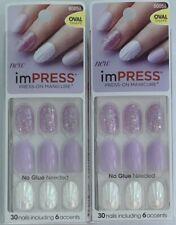 Lot of 2, Kiss Impress Press-On Manicure, Born To Flex