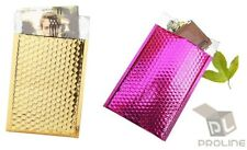 """Mix Your Color 50 Metallic Bubble Padded Shipping Envelopes Mailers #0 6"""" x 10"""""""