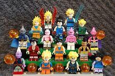 Lot exceptionnel de 16 figurines Dragon Ball Z, époque Buu, format lego, neuves!
