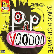 BLACK GRAPE LP Pop Voodoo YELLOW Vinyl SIGNED + Download SEALED Limited Edn.