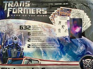 Stickers - Transformers Dark Of The Moon Stickers - 632 Stickers Plus More!