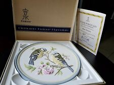 Kaiser Porcelain Blue Titmice Series Song & Garden Birds Wall Plaques 357/2000