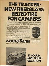 Original 1970 Goodyear Tracker Tires for Campers Magazine Ad