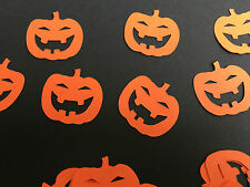 """Halloween Party Table Confetti Orange Pumpkins pack of 50 1"""" pumpkins supplied"""