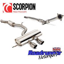 """SCORPION GOLF R MK6 Turbo posteriore di scarico 3"""" Edif & SPORT CAT il tubo verticale più silenzioso"""