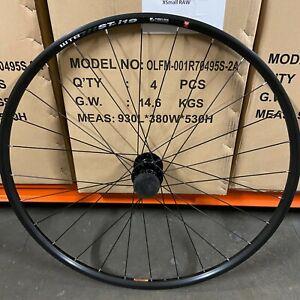 "WTB STp i19 29"" Rim on Chasewood Hubs - Black - QR - 6 Bolt - MTB Front Wheel"