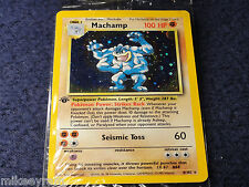 Pokemon Machamp 1st edition 8/102 never been open - OEM factory sealed