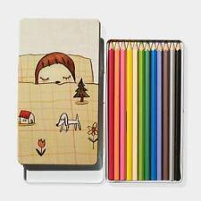 Nara Yoshitomo colored pencil F/S JAPAN