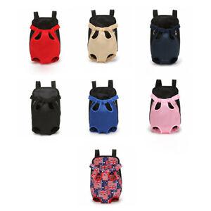 Nylon Pet Puppy Dog Carrier Backpack Front Net Bag Tote Carrier Sling BagYXyu