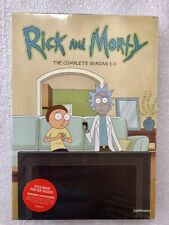 Rick and Morty Seasons 1 - 3 DVD 1,2,3 *SALE* Free Exclusive Poster