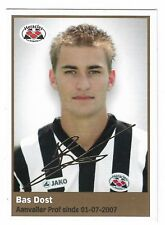 AH 2009/2010 Panini Like sticker #103 Bas Dost Heracles Almelo