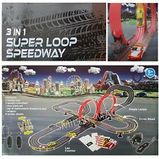 Porsche GT3 Chad Valley Super Loop Speedway Racing Track Remote Control Slot Car
