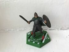 LORD OF THE RINGS COMBAT HEX MINIATURES - WARRIOR OF ROHAN GAME PIECE FIGURE