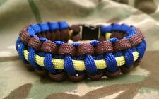 F (Spinx) Parachute Batterie Royal Horse Artillery Paracord 550 Bracelet