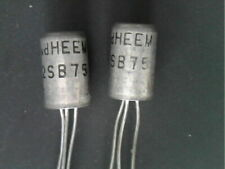 2SB75 GERMANIUM transistor vd Heem PNP 25V 0,1A