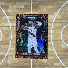 2020-21 Panini Prizm Basketball Hassan Whiteside Tiger Print Ssp