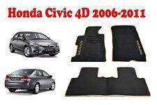 Honda CIVIC 4D 2006-2011 Sedan Fully Tailored Classic Carpeted Car Floor Mats