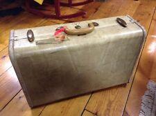 Vintage Cream Colored Samsonite Suitcase
