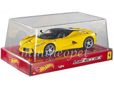 HOT WHEELS BLY63 FERRARI LaFerrari F70 HYBRID NEW ENZO 1/24 DIECAST CAR YELLOW