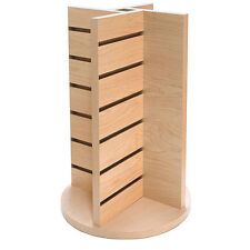 """New Maple Countertop Spinner 4-Way Display 12""""w x 12""""d x 20-3/4""""h"""